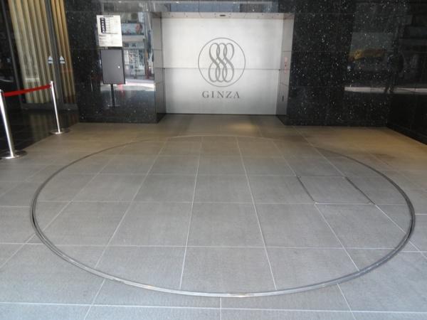 Ginza parking circle