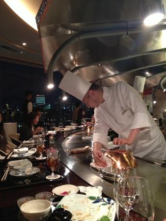 Chef at Ukai Tei