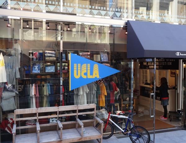 UCLA fashion in Tokyo